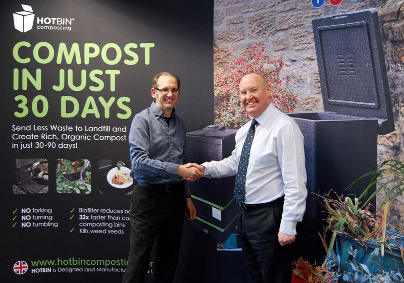 DS Smith Acquire HOTBIN Composting from Inventor Tony Callaghan