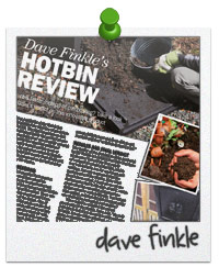 Dave Finkle's HOTBIN Review in Grow Your Own Magazine