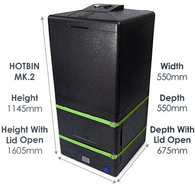 HOTBIN Mk 2 (200 ltr)