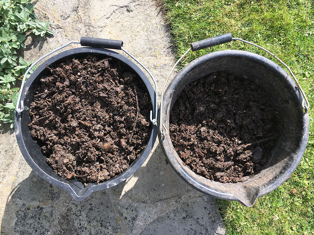 Finished HOTBIN Compost ready in 6-8 weeks