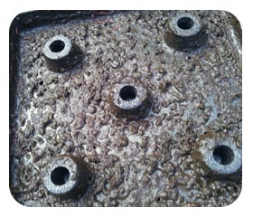 Covered Aeration Plate