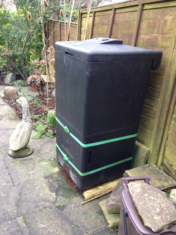 HOTBIN Used as Alternative to Council Food Waste Collections