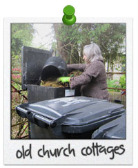 Old Church Cottages Composts Food Waste from Guests