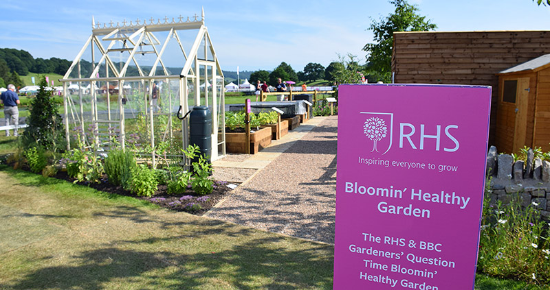 HOTBIN in the RHS and BBC Bloomin Healthy Garden