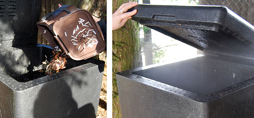 HotBin Compost Bin with Steam