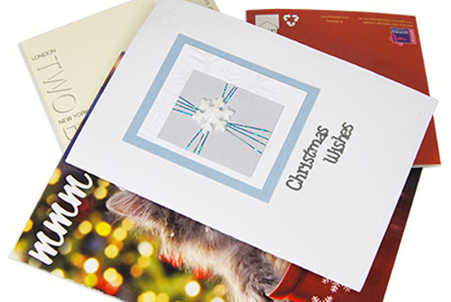 Composting Christmas Cards