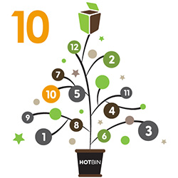 Day 10 of HOTBIN Composting Christmas