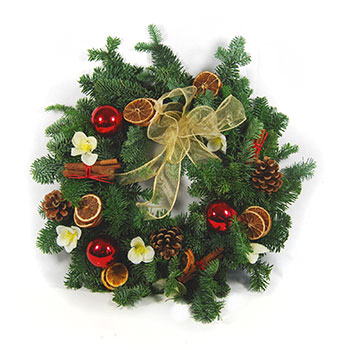 Composting Christmas Wreaths